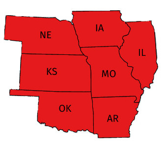 Serving Individuals, Groups, and Businesses in Missouri, Illinois, Kansas, Iowa, Arkansas, Oklahoma, and Nebraska.